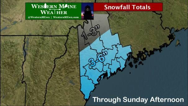 Snowfall Forecast Feb 21-22 2015 Graphic Credit: Bobby Koenig