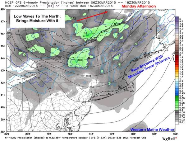 12Z GFS Model IDEA For Thursday Afternoon